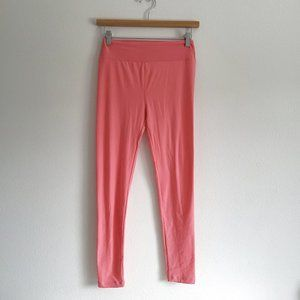 Lularoe light pink solid legging OS